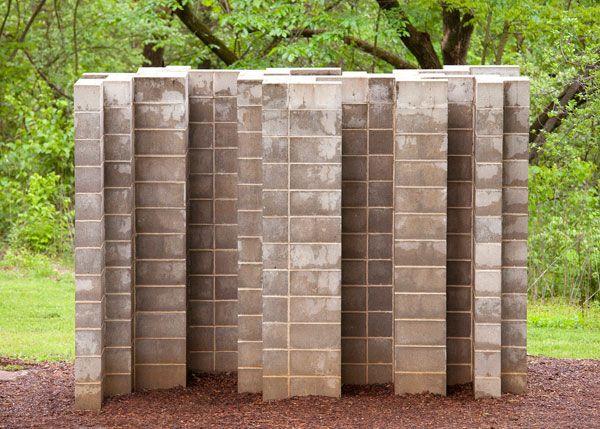 Intricate Wall, 2001-2004_ Laumeier sculpture Park (St. Louis) Missouri