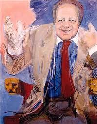 """""""O Presidente """" painting of Júlio Pomar"""