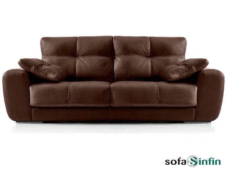 Sofá moderno de 3 y 2 plazas modelo Rocter fabricado por Acomodel en Sofassinfin.es