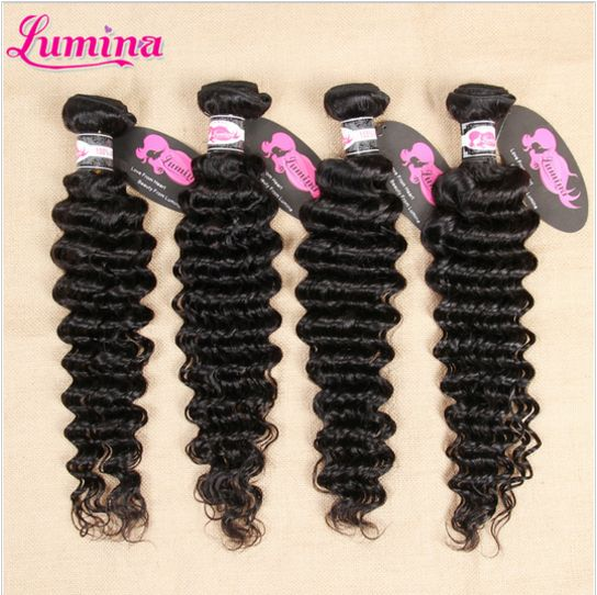 deep wave virgin hair, no shedding, no tangle,