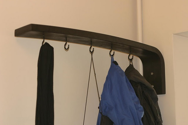 IKEA hack - coat rack from VIKA OLEBY leg