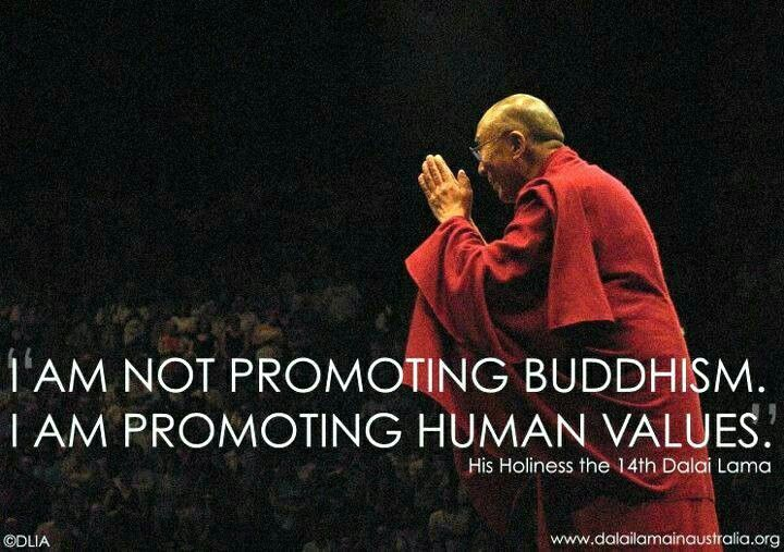 <3 Dali Lama!  I wish Pope Francis could meet him ... and collaborate on a book!!!!