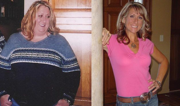 Weight Loss Before and After....10 amazing women and their weight loss success :)