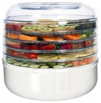 Ronco FD1005WHGEN 5 Tray Food Dehydrator - contemporary - small kitchen appliances - Hayneedle