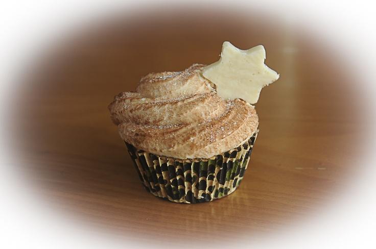 """Cupcake"" de Jabón Navidad"