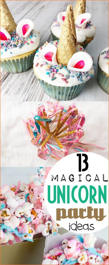 Top Unicorn Birthday Party Ideas. Make all her dreams come true with the most amazing Unicorn birthday bash. Decorate with Unicorn banners, play Unicorn games and serve the most delicious Unicorn treats. Perfect ideas for a little girls birthday party.