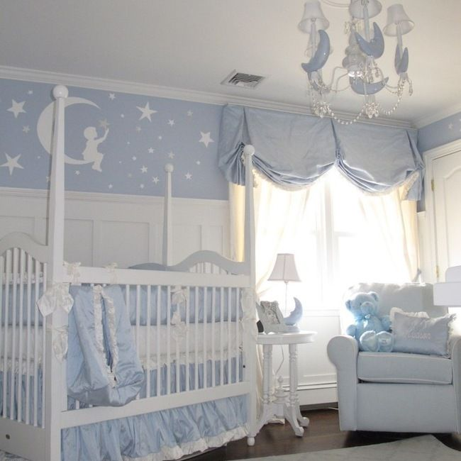 Muralore By Patrice Nyc Ny Kids And Nursery Moon Stars Baby Shower Pinterest Inspiration Babies