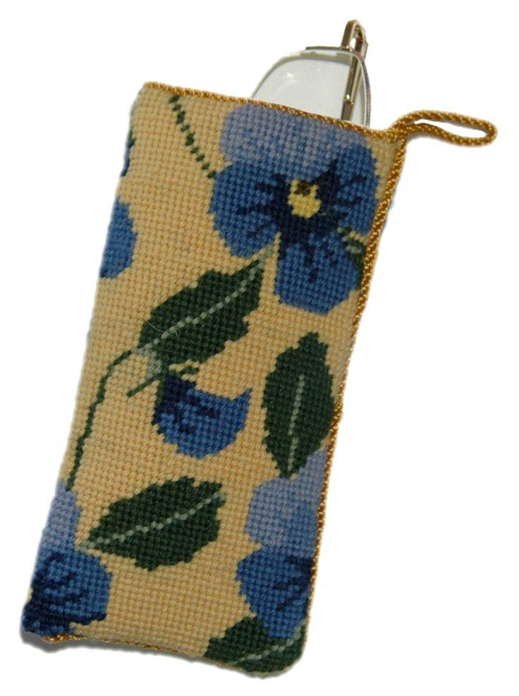 Blue Pansy Spec case Kit
