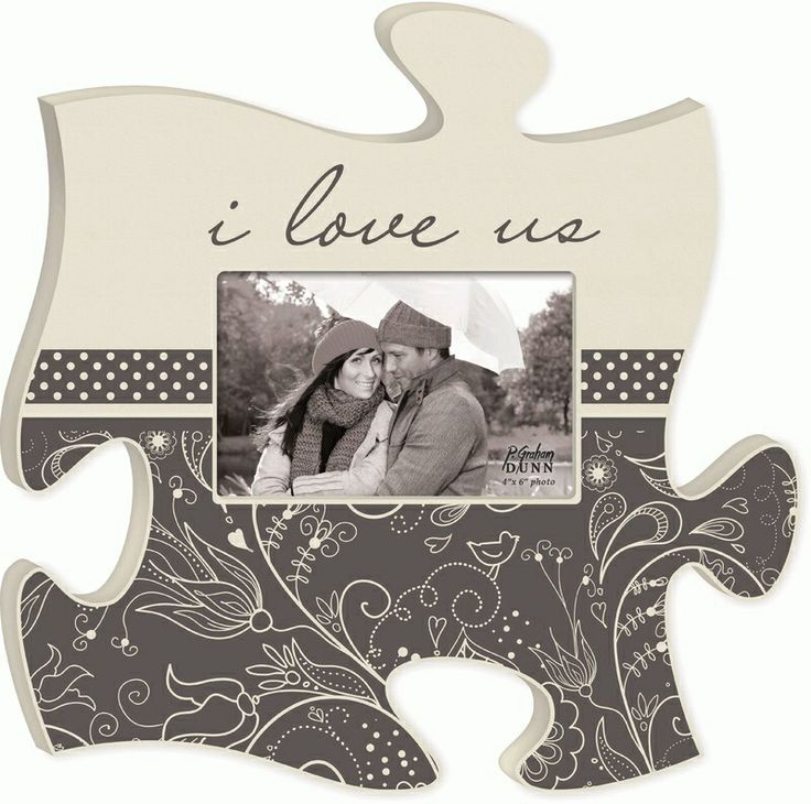 """Puzzle """"piece"""" your family and friends together with this new wall art! With all the different shapes & sizes there's room for everyone, plus integrate inspirational sayings, scripture, and quotes throughout! ($24.99)"""