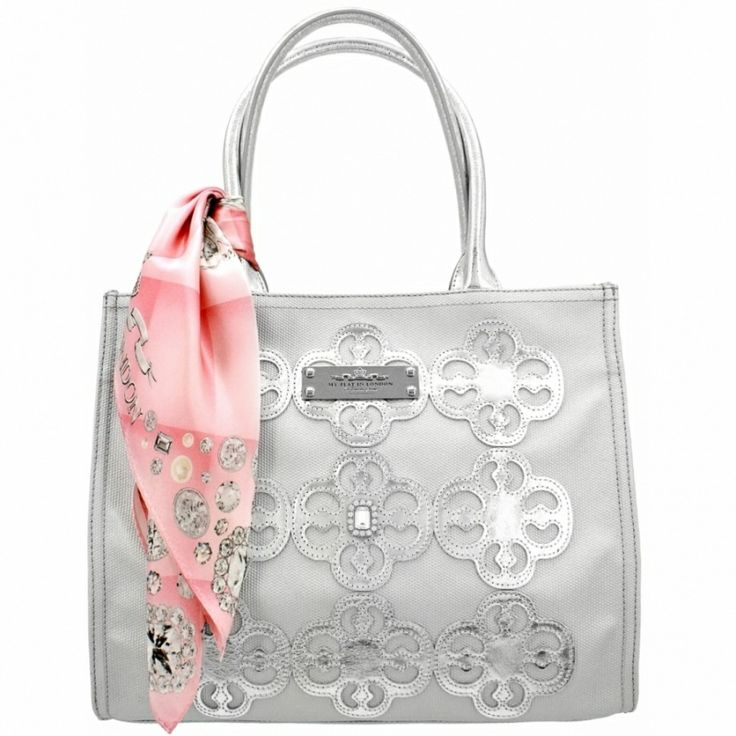 My Flat In London Royceton Square Tote Love