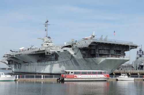 Things to do with the kids in Charleston, SC Tour of the USS Yorktown aircraft carrier ... so cool.