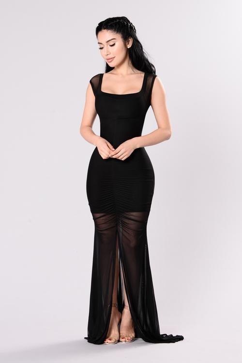 Safari Dress - Black