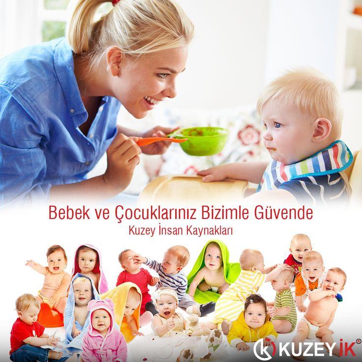 #Bebek ve Çocuklarınız Bizimle Güvende #bakıcı #çocuk #dadı www.kuzeyik.com.tr