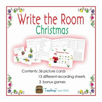 Read and Write the Room Printables