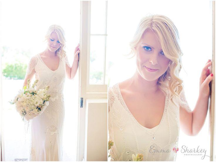 Red Poles Restaurant and Gallery  Jenny Packham wedding gown  Wedding Photography  Emma Sharkey