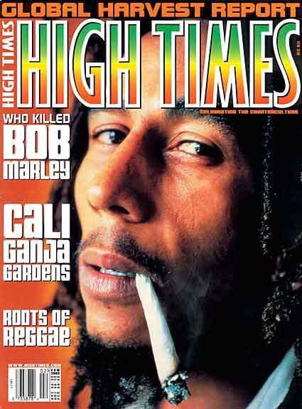 Image result for high times magazine bob marley