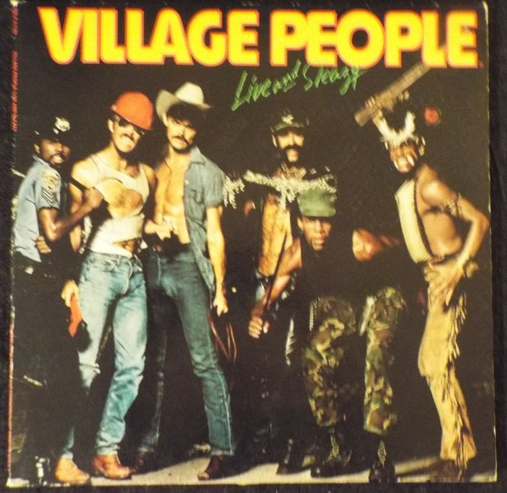 Live And Sleazy Rebound By The Village People Cd May