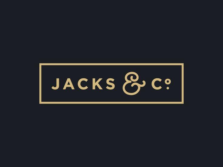Logo Graveyard: Jacks & Co.  Logo Design Inspirationen. Benötigst Du ein Logo für Deine Firma oder ein Redesign? Wir helfen Dir weiter. http://www.swisswebwork.ch/