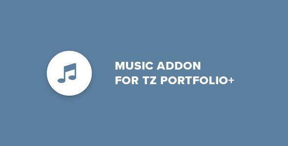 Music - Addon for TZ Portfolio+
