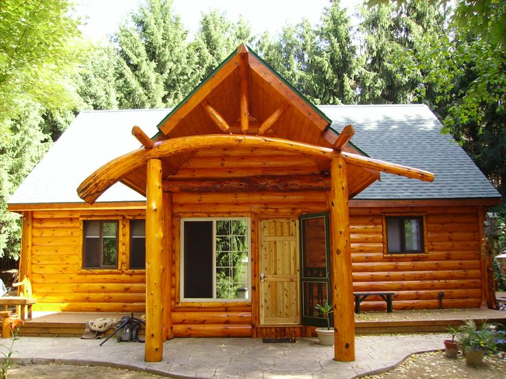 13 best images about log cabin entry ways on pinterest for Log barn homes
