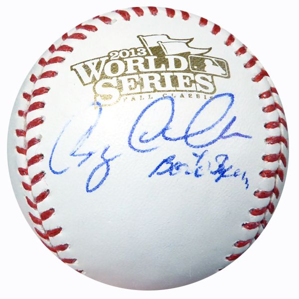 "Greg Colbrunn Autographed Official 2013 World Series Baseball Red Sox """"Boston Strong"""" PSA/DNA #AC23225"