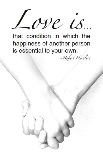 Free printable love quote - Robert Heinlein