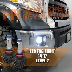 2014 2017 Toyota Tundra Led Fog Light Bulb Upgrade Level 2