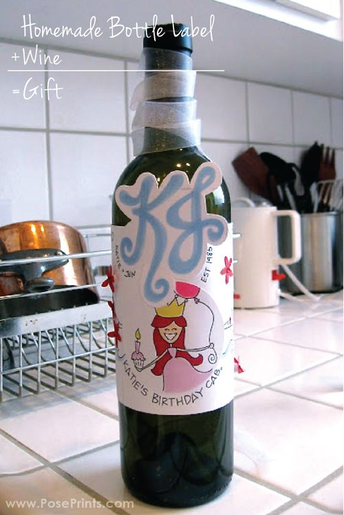 19 best images about bottle label ideas on pinterest for Diy wine bottle gifts