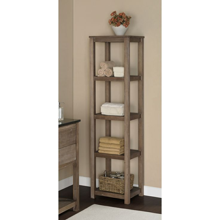 Elements 67 Inch Bath Pier Storage Tower Products