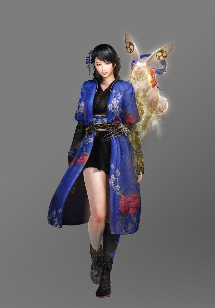 New Nioh characters revealed - NeoGAF
