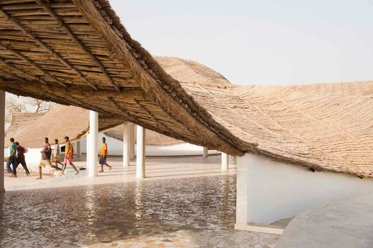 Cultural Center in Senegal Connects Local and International Art - http://freshome.com/cultural-center-in-senegal/