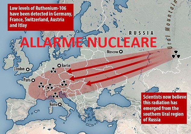 La Russia conferma: scatta l'allarme nucleare in Europa (Italia compresa)