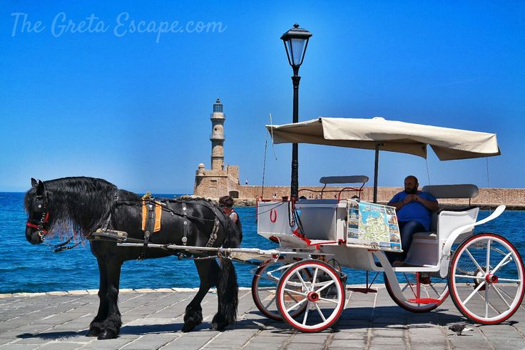 Pier and lighthouse of Chania, Crete