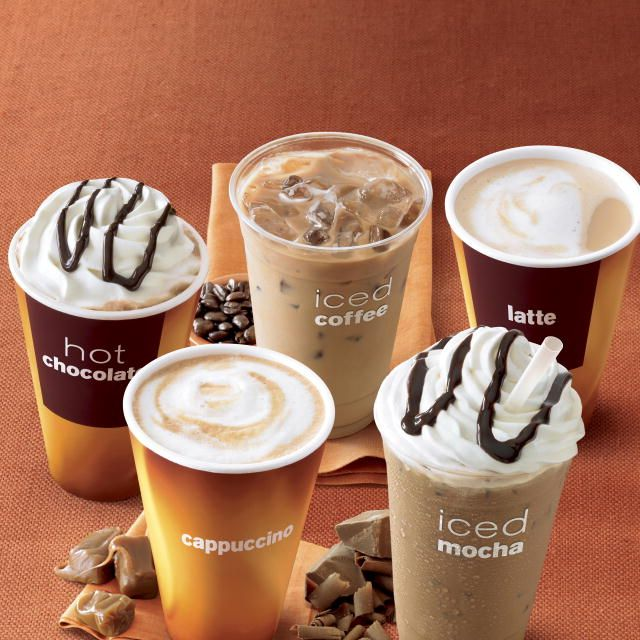 McCafe coffees!!!