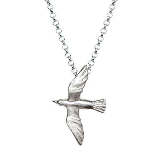 Seagull - Silver Necklace  #seagull #sea #Greece #neckalce #gift
