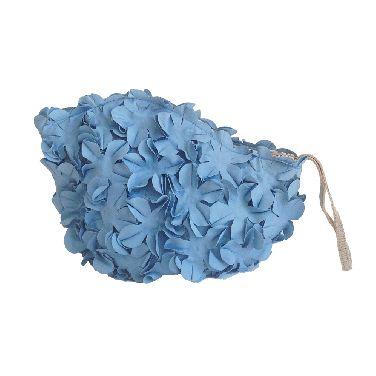 Rainy July | Floral Bathing Cap Clutch Bag