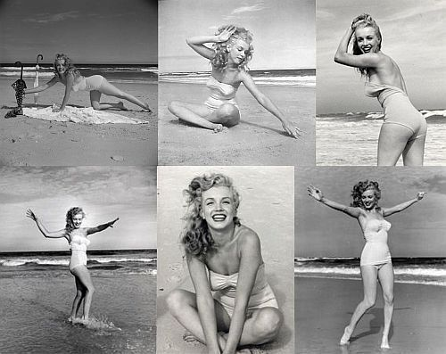 Marilyn Monroe Bikini   Marilyn-Monroe-bikini-photoshoot