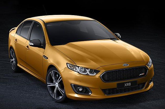 Ford unveils its facelifted Falcon finale with new XR8