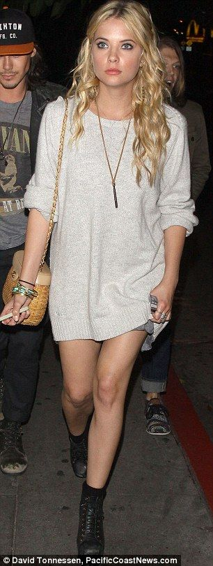 Ashley benson outfit is a 10 for night out with my girls.. :)