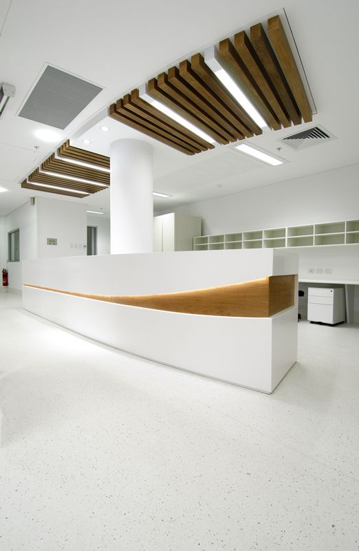 Flinders Centre for Innovation in Cancer – Sterile yet warm light fixtures