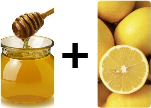Lemon & honey facial mask - **burns at first but really does moisturize and exfoliate. just add face cream after**