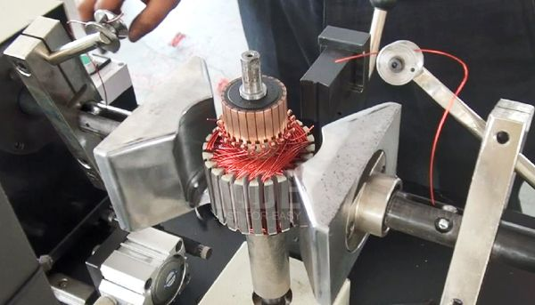 This Manual Armature Winding Machine Is Especially Designed For Winding Even Slot Armatures It S Suitable For Hook Or Riser Type C Motor Machine Manufacturing