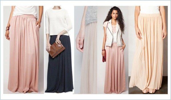Faldas largas plisadas: todas por menos de 50 euros
