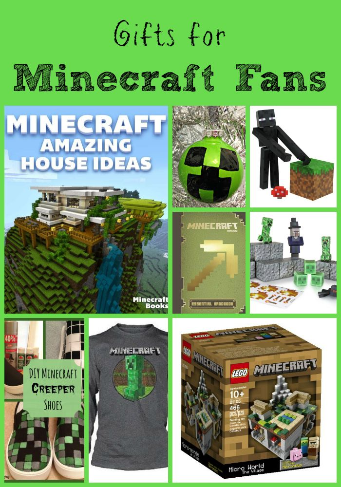 Minecraft Gifts that won't break the bank. Gifts you can purchase and some that you can DIY.