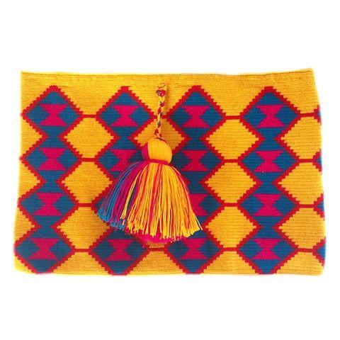 Asuzena Clutch - Wayuu Bags   Chila Bags