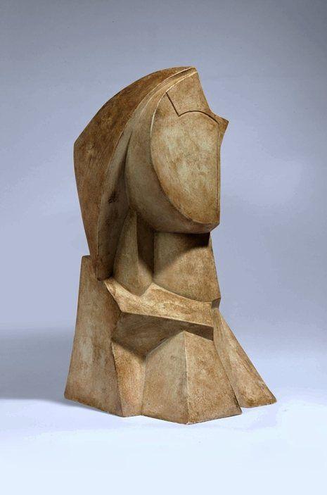 Joseph Csaky - Tête Cubiste (1919)