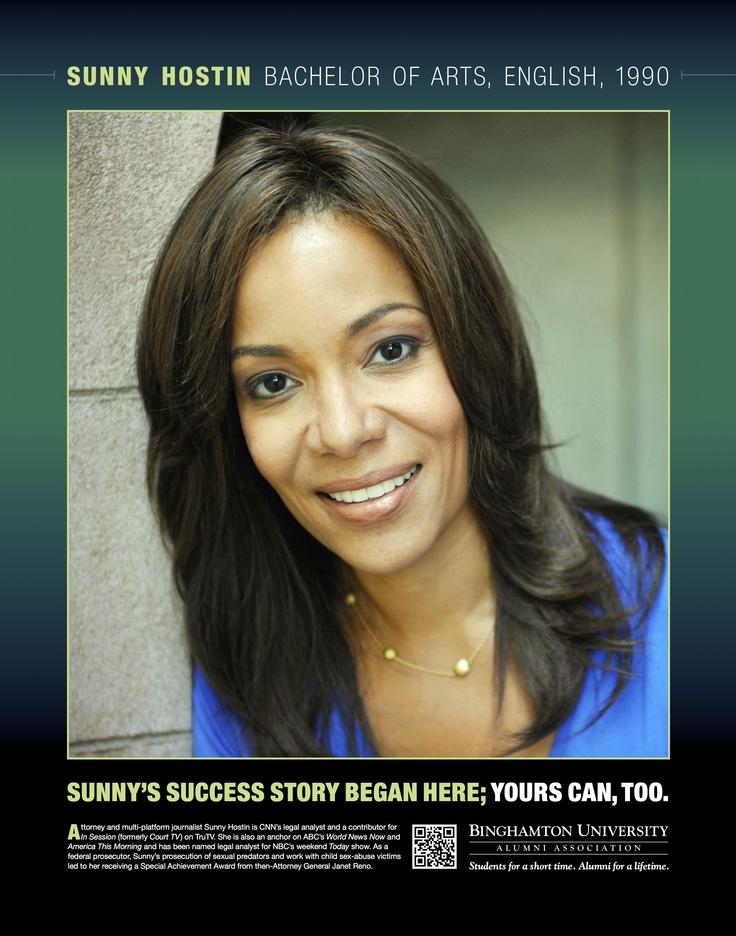 Attorney and multi-platform journalist Sunny Hostin is # ...