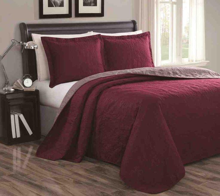 burgundy bedding sets