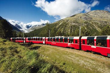 Scenic route: Chur to Tirano Countries: Switzerland and Italy