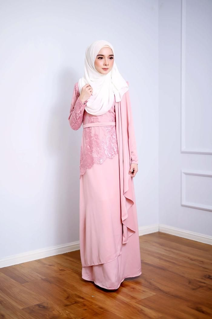 Fiona Dress Dusty Pink